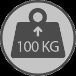 Weight 100kgs