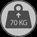 Weight 70kgs