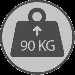 Weight 90kgs